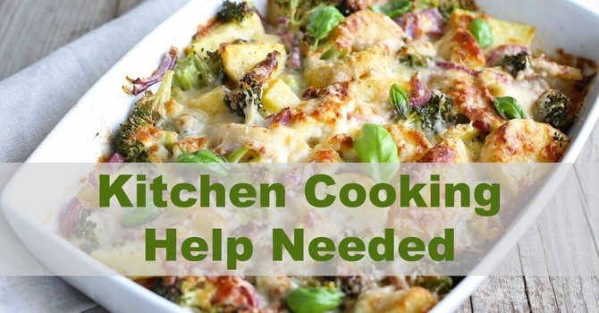 Kitchen Cooking Help Needed image