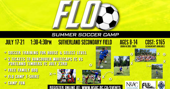 Flo Soccer Camp Volunteers image