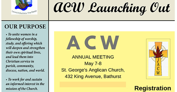 ACW's Launching Out image