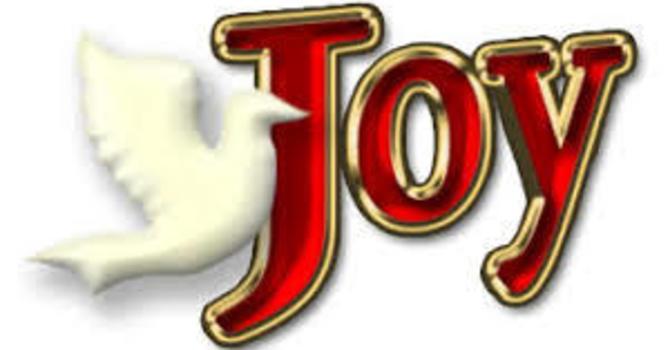 Advent 3 Joy
