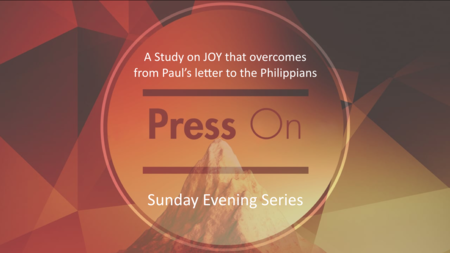 Press On: A Study in Philippians