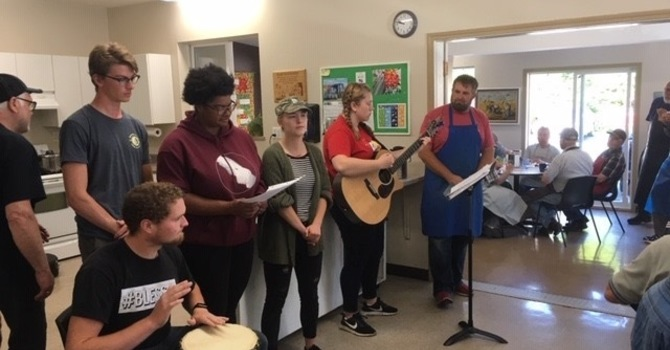 Capernwray Students  Sing image