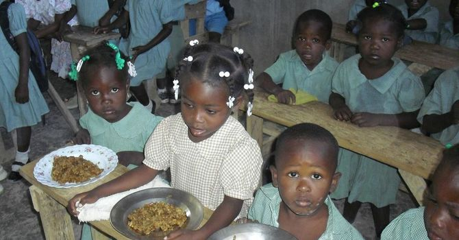 Soup Mix loaded for Haiti image