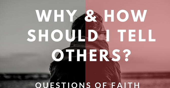 Sharing Faith - In and Out of Relationship image