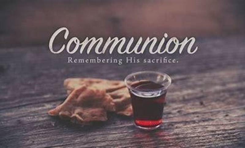 Communion Service October 4, 2020