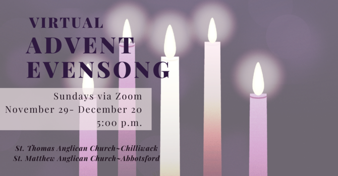 Virtual Advent Evensong
