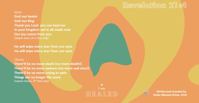 I AM HEALED song image