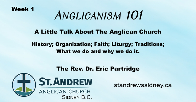 Anglicanism 101 A Series of Short Talks image