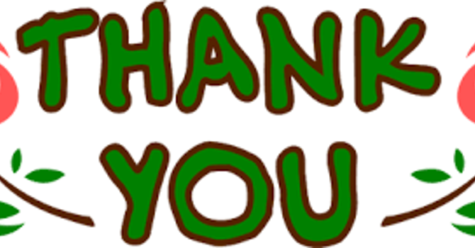 THANK YOU from Sandi image