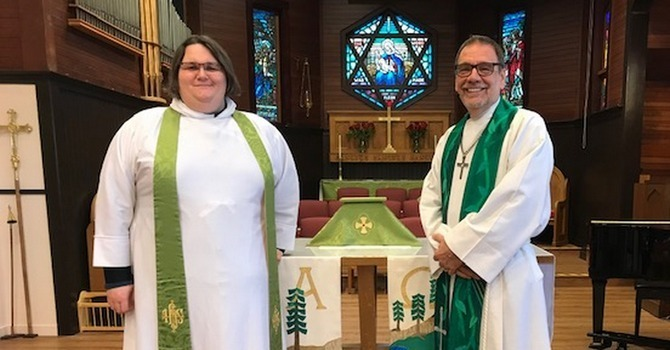 The Rev. Juli Mallett appointed as Priest Associate at St. Andrew, Sidney image