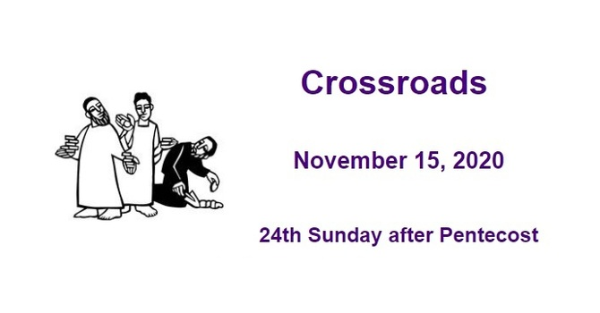 Crossroads November 15, 2020 image