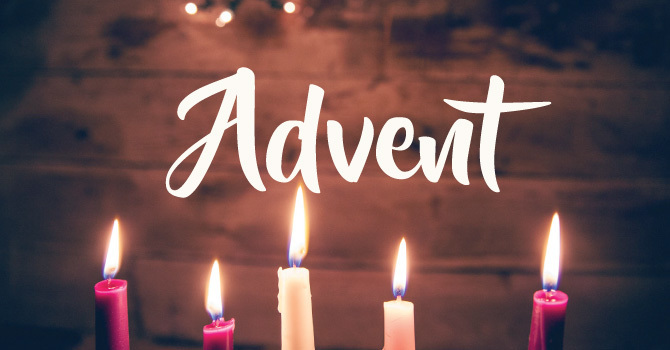 Register to attend Advent services image