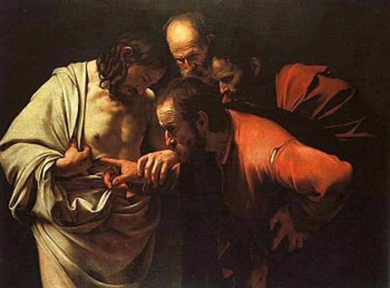 Touching The Wounds of Christ