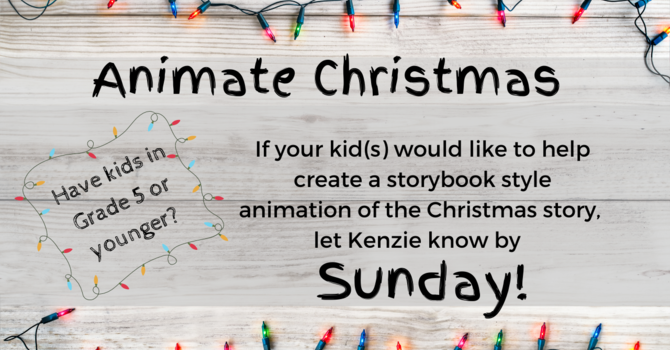 Kids at Lambrick - Animate Christmas image