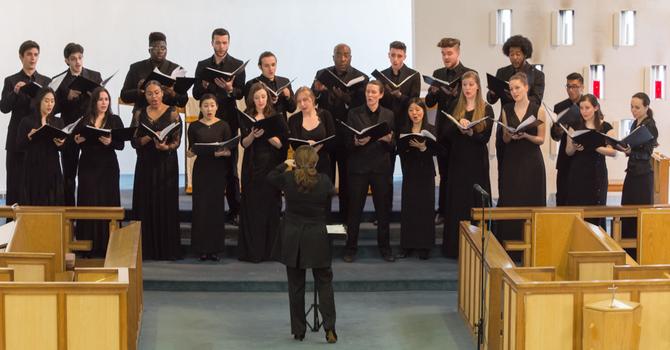York U. Choir Shines in Spring Concert image