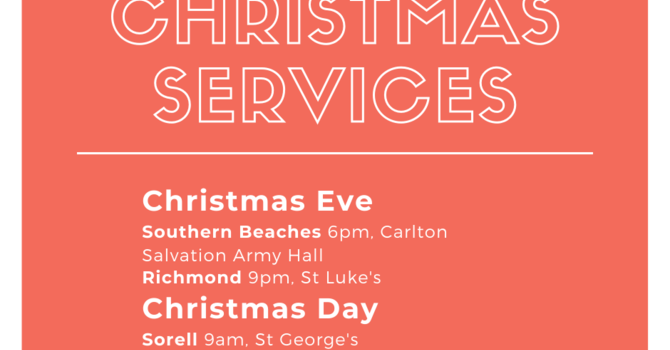 Christmas Services image
