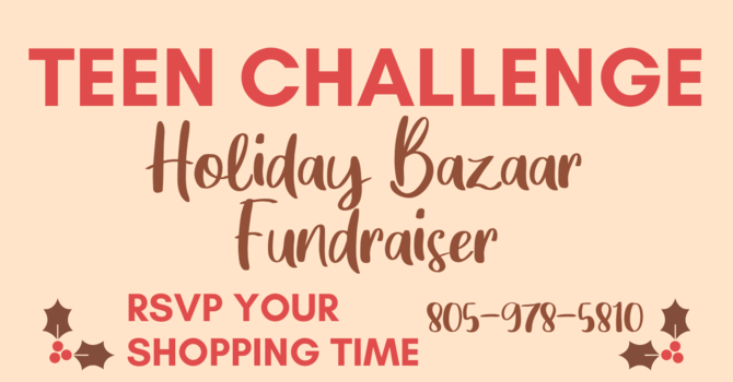 Teen Challenge Holiday Bazaar image