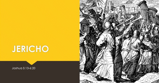 Joshua 5-6 Jericho