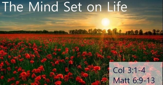 3. The Mind Set On Life