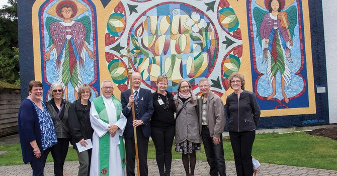 St. Alban's Mural Dedication image