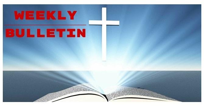 Weekly Bulletin   May 21, 2017 image