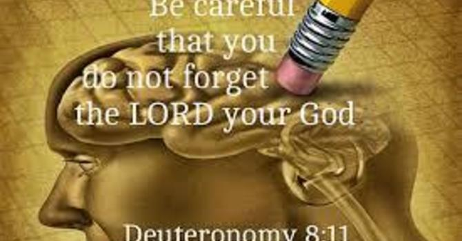 Do Not Forget God