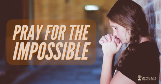 Pray for the Impossible