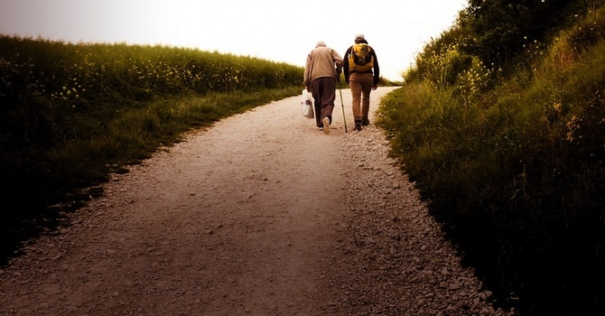 Space for God - Walking with Jesus image