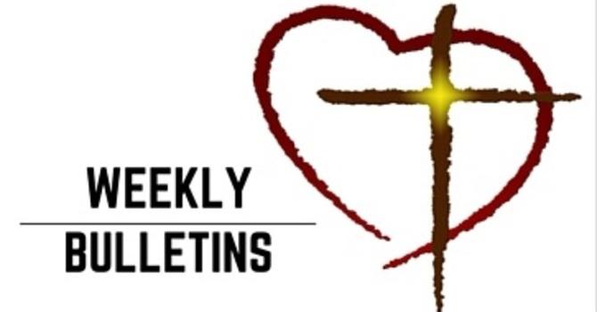 Weekly Bulletin | April 9, 2017 image