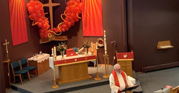 Pentecost at St. Matthew, St. Albert