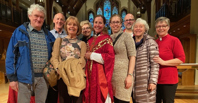 Alecia ordained to the priesthood image