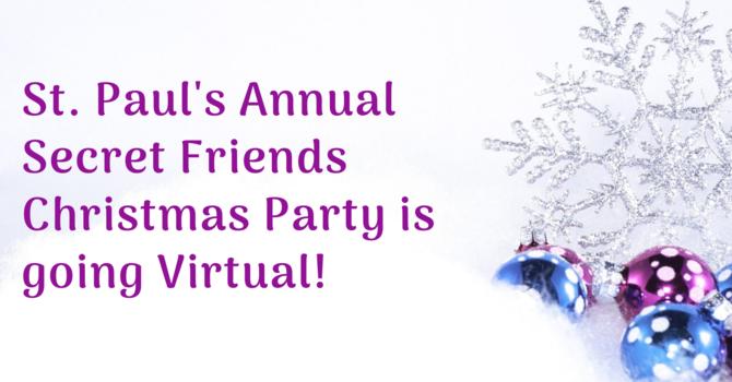 Ladies Secret Friends Virtual Christmas Party