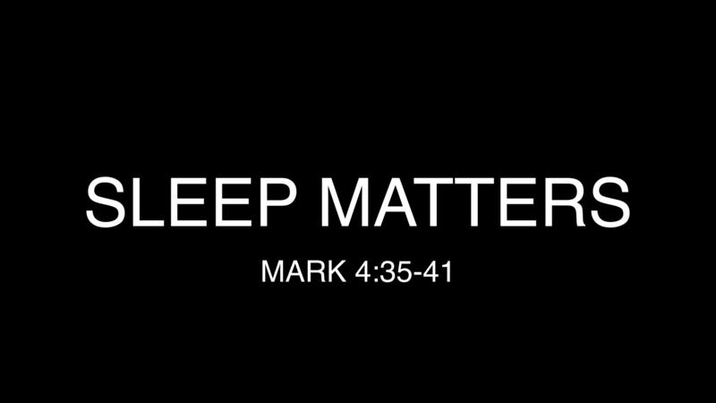 Sleep Matters - James Perreaux