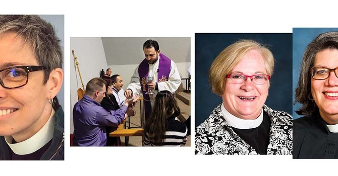Clergy News Around the Diocese April 2018 image