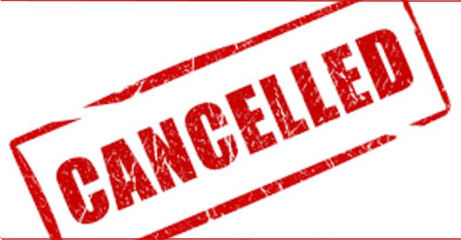 Senior Men's Lunch Cancellation image