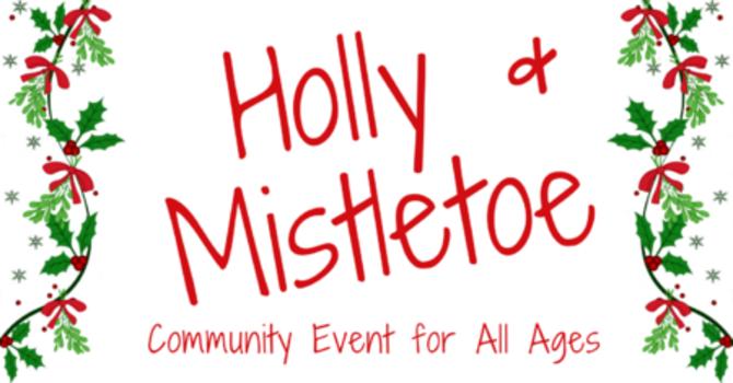 Santa at Holly & Mistletoe - at church?! image