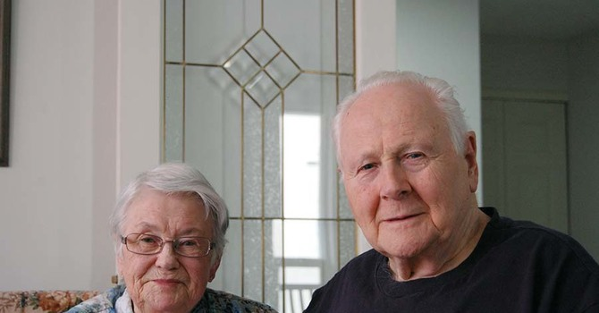 Congratulations to Betty and Don – 68 Years image