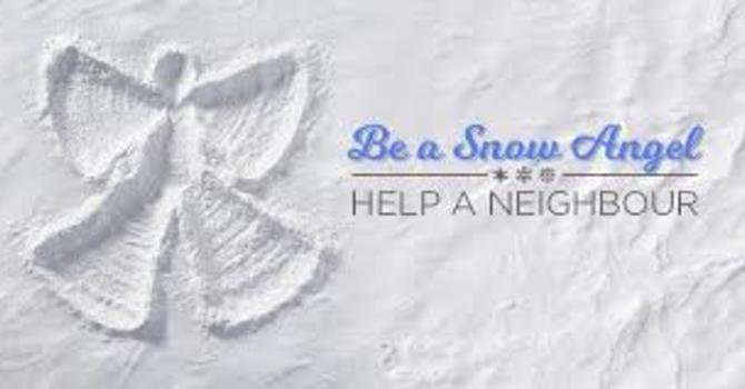 Become a Snow Angel! image