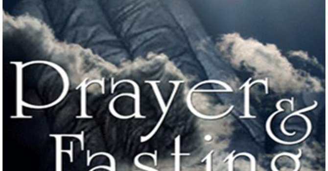 Day of Fasting and Prayer For God to Hold Back The Rain image