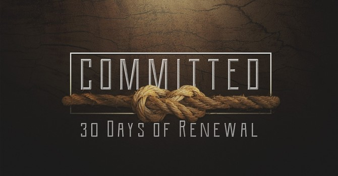 The Call To Commitment