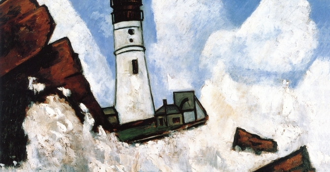 Art and Soul for Lent Day 31 - The Lighthouse
