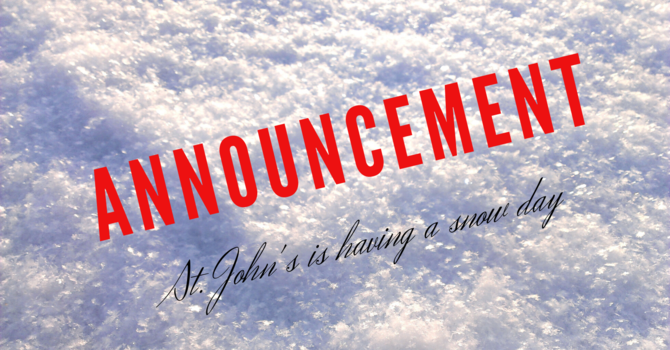 All services have been cancelled January 15 & 16 and the office is closed. image