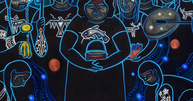 Art and Soul for Lent Day 30 - Water Protectors image