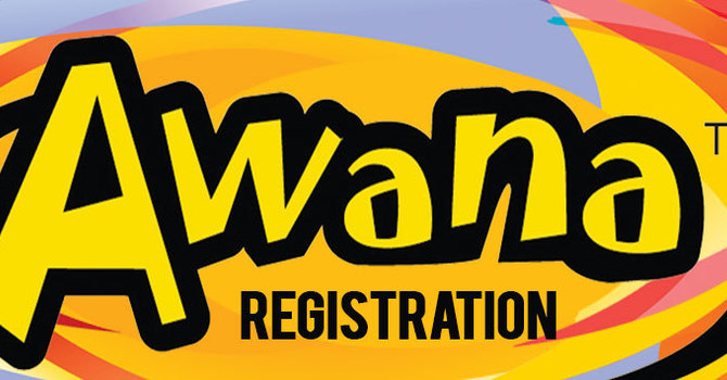 AWANA 2019-20 REGISTRATION IS NOW CLOSED image