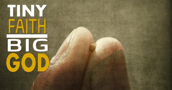 TINY FAITH BIG GOD