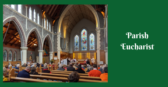 Parish Eucharist - The 24th Sunday after Pentecost image