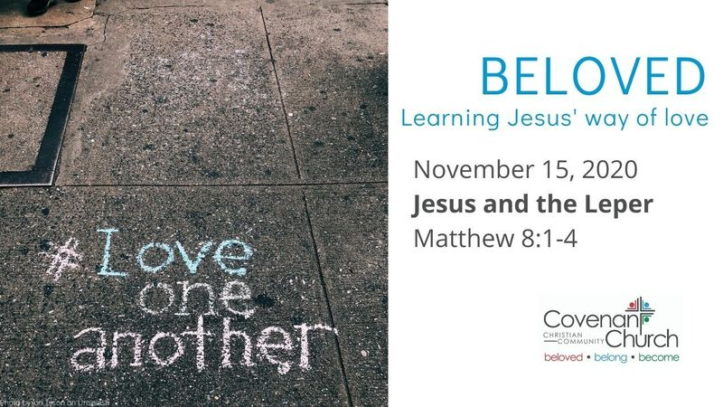 Jesus and the Leper