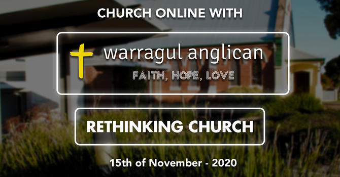 We will be a church of repentance and faith