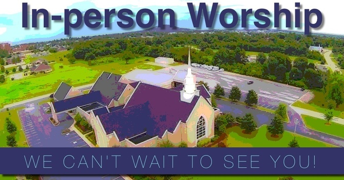 Register for In-person Worship image