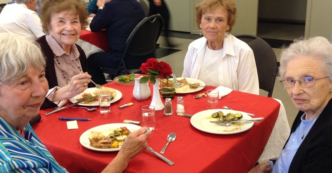 Pentecost Hot Seniors Lunch image